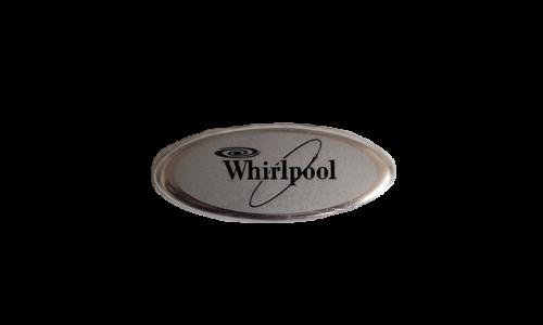 Whirlpool Metal Nameplate