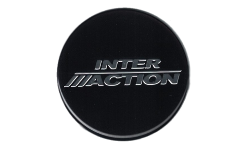 Inter Action Logo Plastic Nameplate