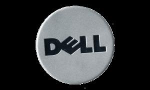Dell Logo Metal Nameplate