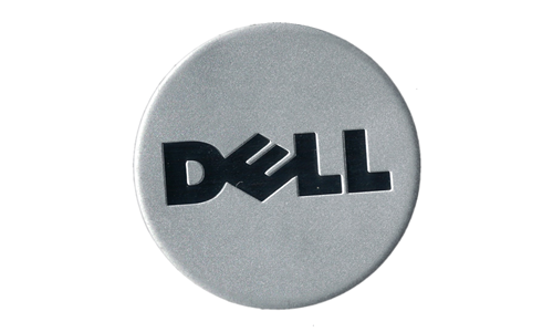 Dell Logo Metal Nameplate