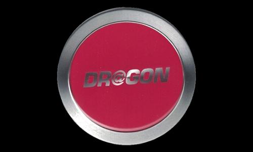 Dr@gon Logo Plastic Nameplate