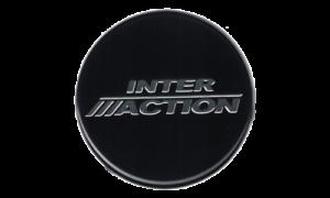 Inter Action Logo Plastic Nameplate