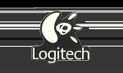 Logitech Logo Plastic Nameplate